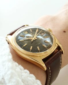 ref.6105 datejust brown dial