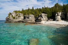 Explore Bruce Peninsula National Park, Ontario, Canada - Bucket List Dream from TripBucket . Still can't believe I got to see this beautiful place. Tobermory Ontario, Places Around The World, Around The Worlds, Canada Holiday, Destinations, Kayak, Canada Travel, Canada Trip, Canada Eh