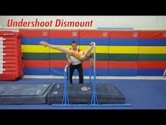 Undershoot Dismount on 5-in-1 Bar System - YouTube