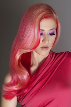 Pink Hair✶ #Hair #Colorful_Hair #Dyed_Hair