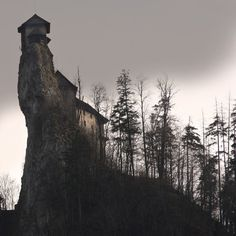 Oravský Zámok, Slovakia.  the-sublime-and-bizarre