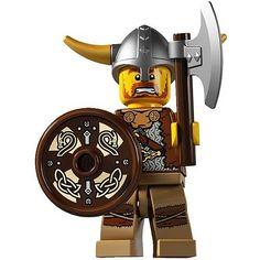 Lego TROLL guerrier head x 1 sable vert pour minifigure