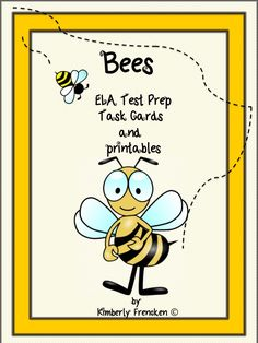 Perfect for test prep and ELA skill review! Your students will love learning all about bees!