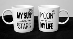 My Sun and Stars, Moon of My Life, Game of Thrones, Set of Two Mugs, Khal & Khaleesi forever