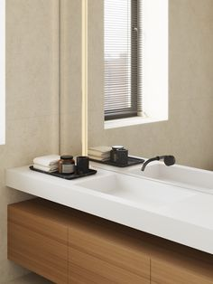 Bathroom Kitchen Dining Living, Big Houses, Washroom, Bathroom Interior, Bathroom Ideas, Small Apartments, Modern Classic, Decoration, Double Vanity