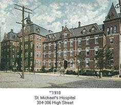St. Michael's Hospital I was born there...Old Photos of Newark NJ | Newark, New Jersey 07102