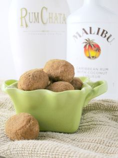 Irish Potato Candy spiked with Malibu and RumChata | Shake Bake and Party