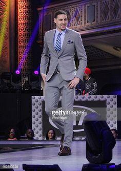Klay Thompson All Star   NBA All-Star Weekend 2015 - All Star Fashion Show : Nachrichtenfoto