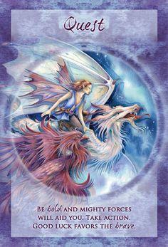 """Quest"" Magical Times Empowerment Cards par Jody Bergsma"