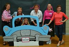 Sock Hop Photo Booth idea