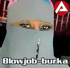 The Burka whores, from the German employment agency!