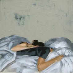 Sweet Dreams . 16 x 16 extra large giclee art door ClareElsaesser, $65.00