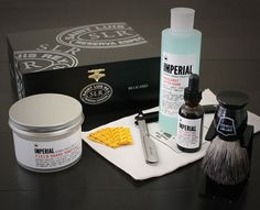 5-Step Straight Razor Shaving Kit | Broquet  ~ thinking about getting this for the hubby. Unsure if this is exactly what he wanted but it's pretty darn nice.