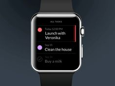 Taasky for Apple Watch by Jakub Antalík