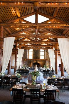 With the state's stunning terrain, it sets the gold standard for what a rustic affair should be. Need an example? Then get ready to lose your breath at