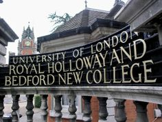 Royal Holloway and Bedford New College