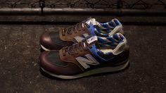 New Balance 576 – Brown / Blue. New Balance Made In England M576RBB - Race  Day ...