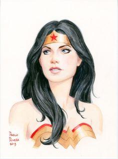 Wonder Woman  Paolo Rivera
