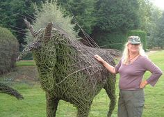 Unicorn at Capel Manor, Enfield by willowpool, via Flickr