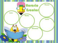 horarios para niños - Buscar con Google Class Schedule, Class Decoration, Teaching, Comics, Centre, Gifs, Facebook, Google, Early Education