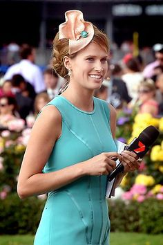 Francesca Cumani   Melbourne Cup celebs 2012     ( a racing princess -  it's in her blood)