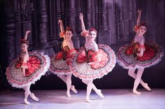 "Students from the Australian Ballet School perform ""Paquita"" (photo by Jim McFarlane)"
