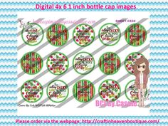 "1"" Bottle caps (4x6) Digital Christmas C532 Christmas bottle cap images #Christmas #xmas #bottlecap #BCI #shrinkydinkimages #bowcenters #hairbows #bowmaking #ironon #printables #printyourself #digitaltransfer #doityourself #transfer #ribbongraphics #ribbon #shirtprint #tshirt #digitalart #diy #digital #graphicdesign please purchase via link  http://craftinheavenboutique.com/index.php?main_page=index&cPath=323_533_42_56"