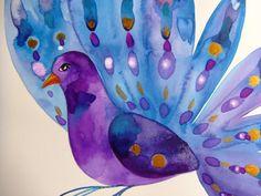 Peacock by+CelineArtGalerie