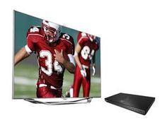 "Samsung 46"" Class (45.9"" Diag.) 1080p 240Hz 3D Slim LED Smart TV and Blu-ray Player Bundle UN46ES8000/BD-E5900"