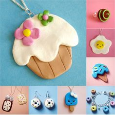 deliciously cute looking handmade jewelry