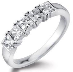 Five stone diamond ring by www.diamondsandrings.co.uk