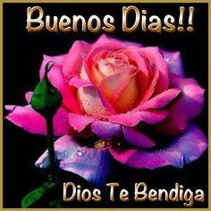 Buenos Días! Dios Te Bendiga