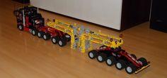 Schwerlast - Lego Technic und NXT - Doktor Brick