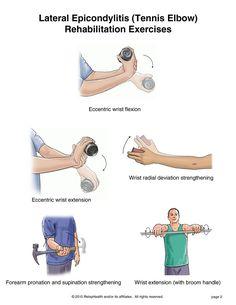 Tennis Elbow Rehab Exercises