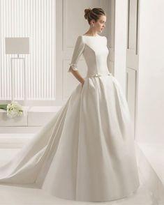 скромное свадебное платье - Поиск в Google