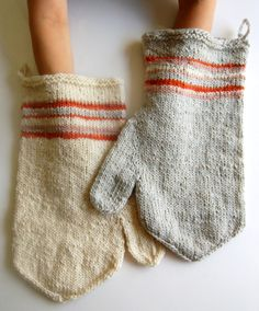 love this 'before felting' shot of whit's oven mitts! :)