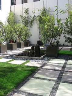 Having a front yard garden to beautify home looking is very likely. The front yard garden design ideas help you to get the garden design your dream. Everybody most like the house with beautiful front yard garden. Many garden design… Continue Reading → Landscaping With Rocks, Modern Landscaping, Landscaping Ideas, Backyard Patio, Backyard Landscaping, Gravel Patio, Pea Gravel, Backyard Furniture, Modern Backyard