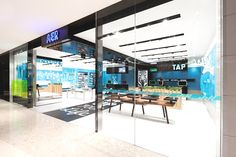 loveisspeed.......: Shanghai-based interior designers and architects Coordination Asia have completed a new breed of telecom stores named AER for AISIDI, one of China's leading resellers of mobile and digital products and services. AER is a retail brand that offers customised mobile services in a playful, cool and customer-focused environment. The architects took on branding as well as VI and store design for AER...