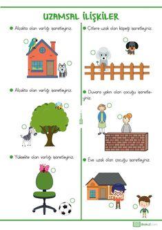 Free Preschool, Preschool Worksheets, Preschool Activities, Speech Language Therapy, Speech And Language, Primary School, Pre School, Geek Culture, Turkish Lessons