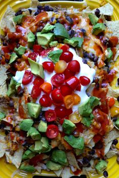 Seriously The Best Nacho Recipe - made with ground turkey and LOTS more! reluctantentertainer.com