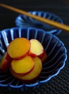 Sweet Potato with Honey and Lemon さつま芋のレモン煮