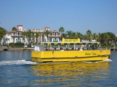 Travel and Attractions in South Florida - Daytrip on the Watertaxi!