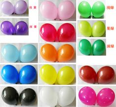 Pick your colors on pinterest chair sashes color charts for Balloon decoration color combinations
