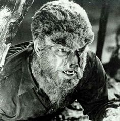 The original Wolf Man! Horror Show, Horror Movies, Wolf People, Bark At The Moon, Lon Chaney Jr, Horror House, Invisible Man, Classic Monsters, Vintage Horror