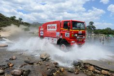 Joch Smink of team Ginaf competes in stage 10 from Cordoba to La Rioja during the 2013 Dakar Rally on January 15, 2013 in Cordoba, Argentina.