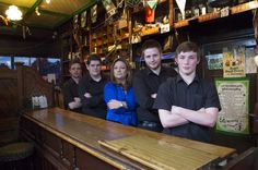 Presenter Norah Casey and the staff of The Glyde Inn, Annagassan, Co Louth.