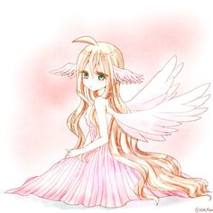 Do me and my mom look the same here?Its me but I have the wings she has in her head!^_^~Lulu