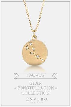 Taurus Constellation Necklace – Envero Jewelry