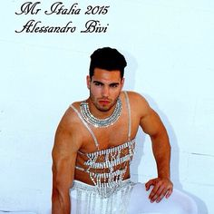 New crystal photo with Alessandro Bivi for Elixir couture. The new mister Italia 2015 a little bit before be famous. Proud to work with him.