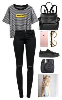 """Untitled #325"" by zombiesalldaway on Polyvore featuring J Brand and Givenchy"